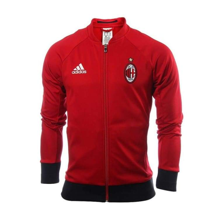 Jackets / Track: Adidas Ac Milan 16/17 Anth Jacket Ap1529 - Adidas / Xs / Red / 1617 Ac Milan Adidas Clothing Football |