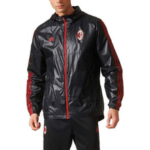 Jackets / Windbreaker: Adidas Ac Milan 17/18 3S Windbreaker Bp8211 - 1718 Ac Milan Adidas Clothing Football