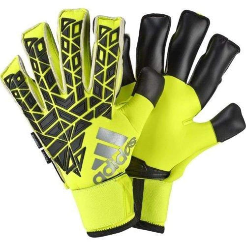Gloves & Mittens / Soccer: Adidas Ace Trans Fingersave Pro Goalie Gloves Ap6991 - Adidas / 10 / Yellow / Accessories Adidas Football Gloves