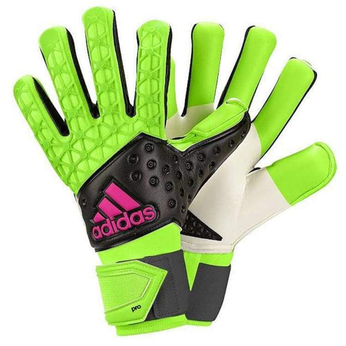 Gloves & Mittens / Soccer: Adidas Ace Zones Pro Gn/bk Ah7803 - Adidas / 8 / Green / Accessories Adidas Football Gloves Gloves & Mittens /