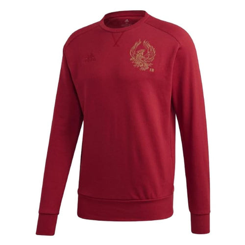 Hoodies & Sweaters: ADIDAS AFC Chinese New Year CR Sweater GH0030 - adidas / Red / L / 1920 Adidas ARSENAL Black Clothing |