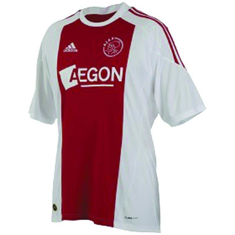 Jerseys / Soccer: Adidas Ajax 10/11 (H) S/s Jersey - M / Red / Adidas / 1011 Adidas Ajax Clothing Football | Ochk-Sfalo-Sshol01100H-Red-M