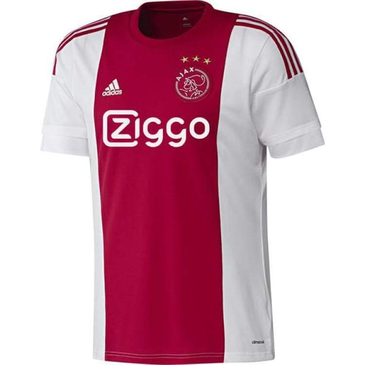Jerseys / Soccer: Adidas Ajax 15/16 (H) S/s S08244 - Xs / Red / Adidas / 1516 Adidas Ajax Clothing Football | Ochk-Sfalo-Sshol01150H-Red-Xs