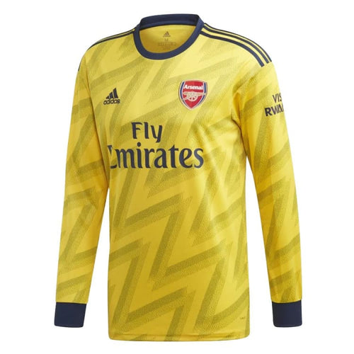 Jerseys / Soccer: ADIDAS Arsenal FC 19/20 (A) LS Jersey EH5631 - adidas / Yellow / XS / 1920 Adidas ARSENAL Away Away Kit |