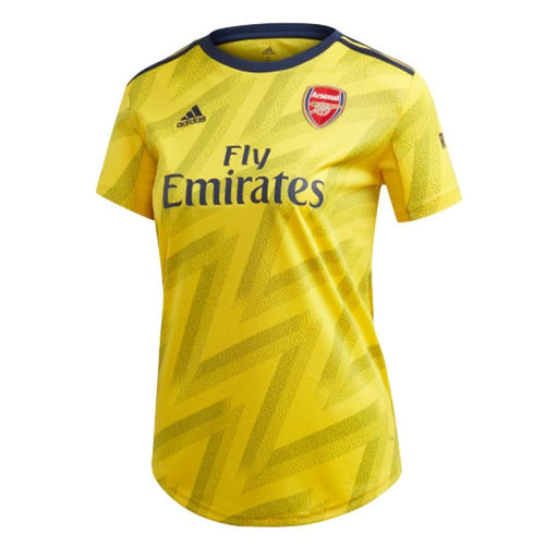 Jerseys / Soccer: ADIDAS Arsenal FC 19/20 (A) SS Women Jersey EH5678 - adidas / Yellow / 2XS / 1920 Adidas ARSENAL Away Away Kit |