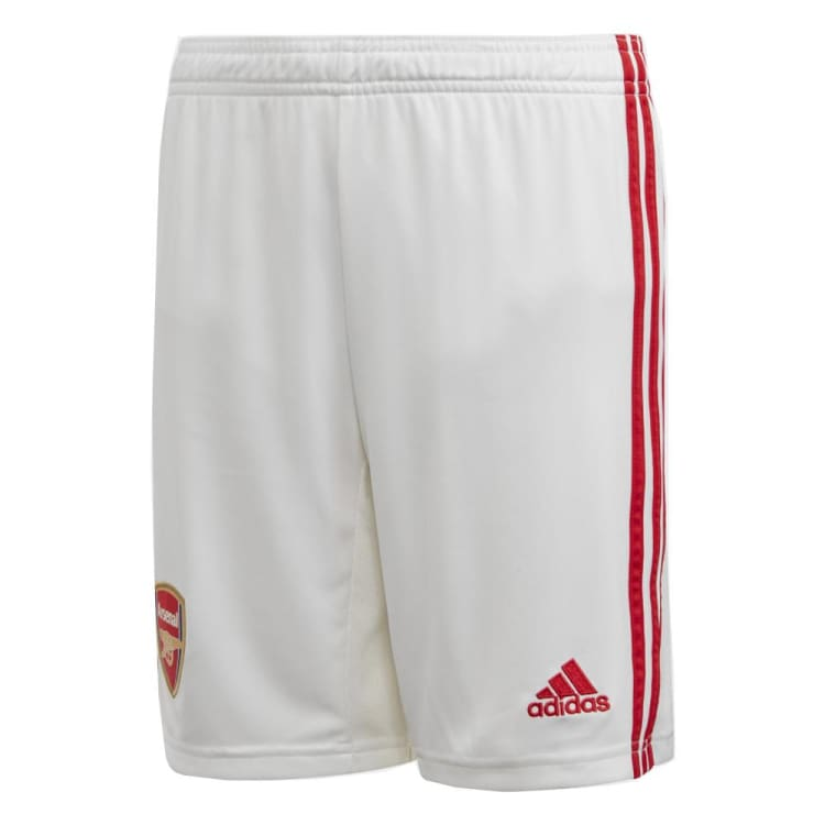 Shorts / Soccer: Adidas Arsenal FC 19/20 (H) Boy Shorts EH5654 - adidas / White / Kids: 140 / 1920 Adidas ARSENAL Clothing Football |