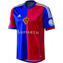 Jerseys / Soccer: Adidas Basel 13/14 Home S/s Jersey S/s G70861 - Adidas / S / Red/ Blue / 1314 Adidas Clothing Fc Basel Football |