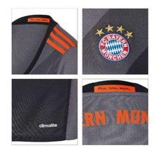 Jerseys / Soccer: Adidas Bayern Munich 16/17 (A) Women S/s Az4660 - 1617 Adidas Away Kit Bayern Munich Black