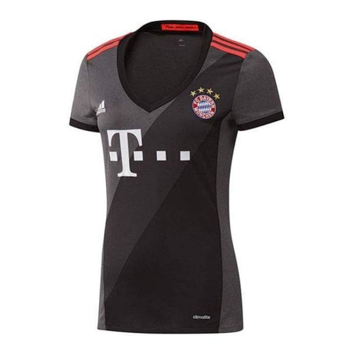 Jerseys / Soccer: Adidas Bayern Munich 16/17 (A) Women S/s Az4660 - Adidas / Xxs / Black / 1617 Adidas Away Kit Bayern Munich Black |