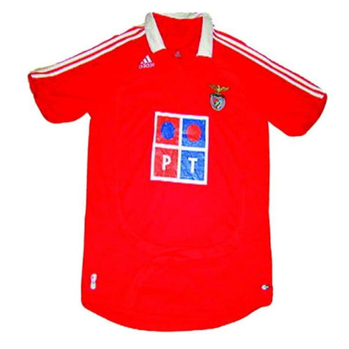 Jerseys / Soccer: Adidas Benfica 07/08 (H) S/s Jersey - Adidas / Xl / Red / Adidas Benfica Clothing Football Jerseys |