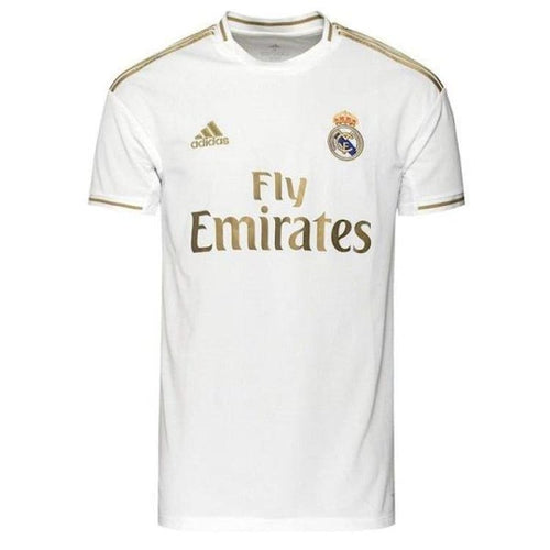 Jerseys / Soccer: Adidas Boys Real Madrid 19/20 Home S/S Jersey DX8838 - Kids: 128 / 1920 Adidas Clothing Home Kit Jerseys |