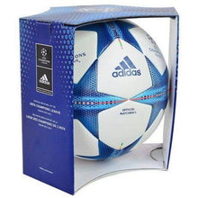 Balls / Soccer: Adidas Champions League 15/16 Finale15 Official Match Ball S90230 Size:5 - Adidas / 5 / White/blue / 1516 Adidas Balls Balls