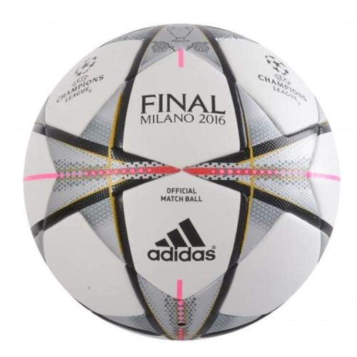 Balls / Soccer: Adidas Champions League Final Milano 2016 Official Match Ball Size:5 Ac5487 - Adidas / 5 / White / 2016 Adidas Balls Balls /