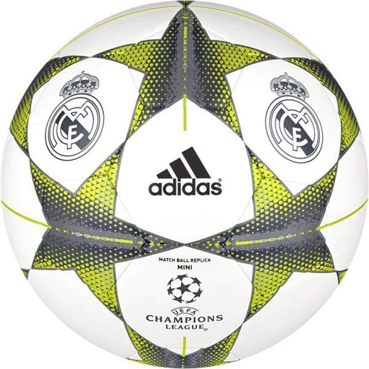 Balls / Soccer: Adidas Champions League Finale15 Real Madrid 15/16 Mini Ball S90221 - Adidas / White / Adidas Balls Balls / Soccer Football