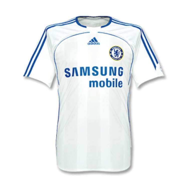 Jerseys / Soccer: Adidas Chelsea 06/07 (3Rd) S/s Jersey - Adidas / L / White / 0607 Adidas Chelsea Clothing Football |
