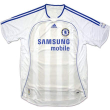 Jerseys / Soccer: Adidas Chelsea 06/07 (A) S/s Jersey 061200 - Adidas / L / White / 0607 Adidas Away Kit Chelsea Clothing |