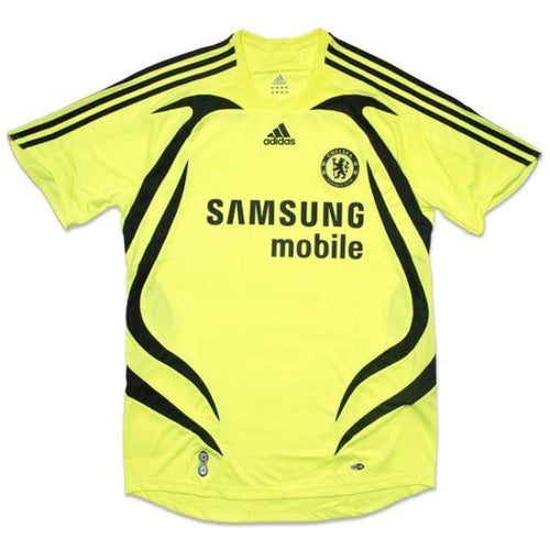 Jerseys / Soccer: Adidas Chelsea 07/08 (A) S/s Jersey 697777 - Adidas / M / Yellow / 0708 Adidas Away Kit Chelsea Clothing |