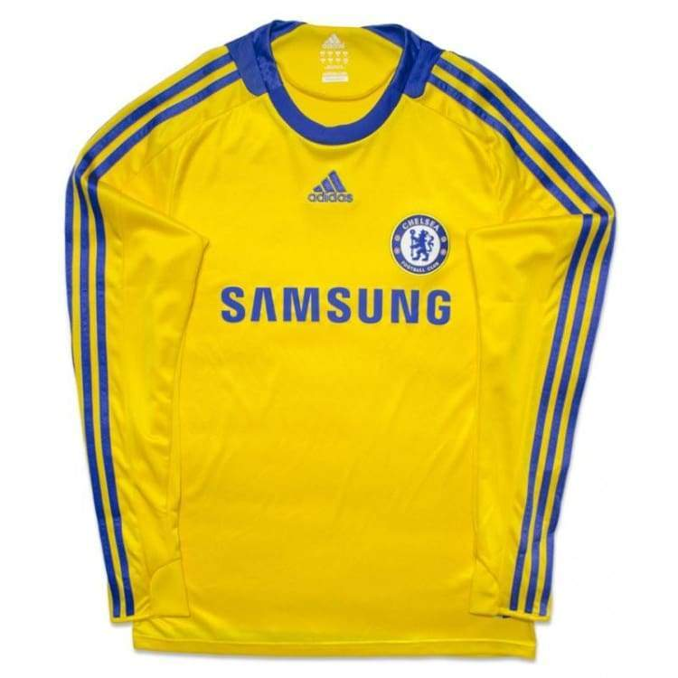 Jerseys / Soccer: Adidas Chelsea 08/09 (A) L/s 656117 - Adidas / S / Yellow / 0809 Adidas Away Kit Chelsea Clothing |