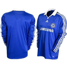 Jerseys / Soccer: Adidas Chelsea 08/09 (H) L/s 656131 - 0809 Adidas Blue Chelsea Clothing