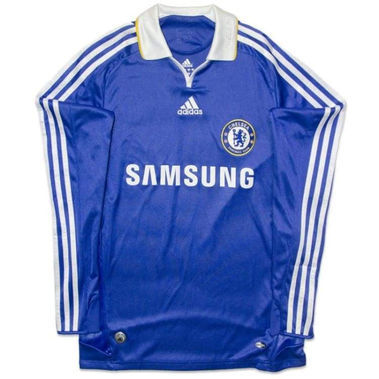 Jerseys / Soccer: Adidas Chelsea 08/09 (H) L/s 656131 - Adidas / S / Blue / 0809 Adidas Blue Chelsea Clothing | Ochk-Sfalo-Lseng02080H-Blu-S