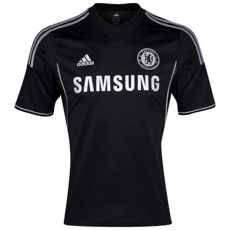 Jerseys / Soccer: Adidas Chelsea 13/14 (3Rd) S/s Z27664 - Adidas / S / Black / 1314 Adidas Black Chelsea Clothing |