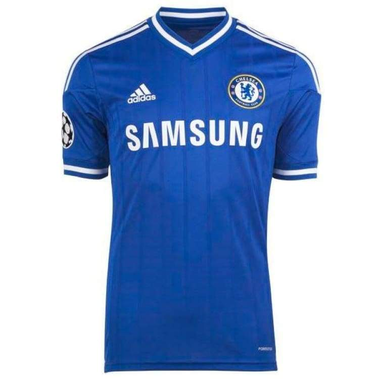 Jerseys / Soccer: Adidas Chelsea 13/14 Ucl (H) Authentic Formation S/s G90156 - Adidas / Blue / M / Adidas Blue Chelsea Clothing Football |