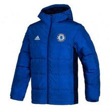 Jackets / Down & Insulated: Adidas Chelsea 14/15 Down Jacket M30932 - Adidas / L / Blue / 1415 Adidas Blue Chelsea Clothing |