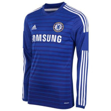 Jerseys / Soccer: Adidas Chelsea 14/15 (H) L/s F48637 - 1415 Adidas Blue Chelsea Clothing
