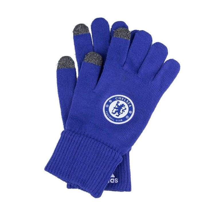 Gloves & Mittens / Casual: Adidas Chelsea 15/16 Gloves A98715 - Adidas / S / Blue / 1516 Accessories Adidas Blue Chelsea |