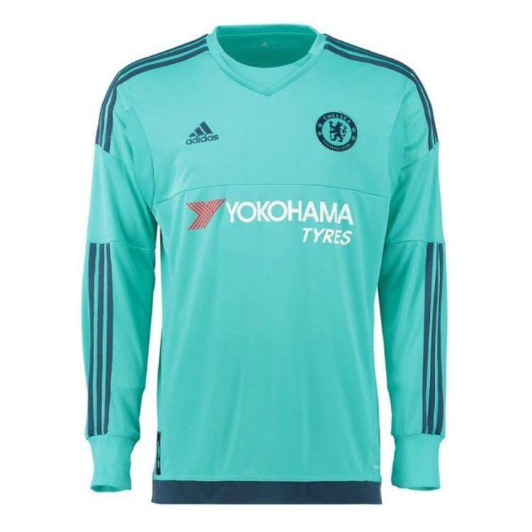 Jerseys / Soccer: Adidas Chelsea 15/16 (H) L/s Goalkeeper Ah5129 - Adidas / M / Green / 1516 Adidas Chelsea Clothing Football |