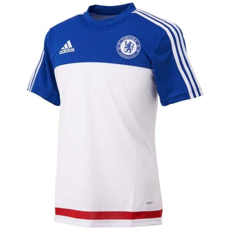 Jerseys / Soccer: Adidas Chelsea 15/16 Training Jersey Ac4960 - Adidas / S / White / 1516 Adidas Chelsea Clothing Football |