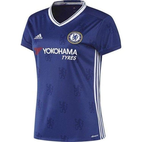 Jerseys / Soccer: Adidas Chelsea 16/17 Home S/s Jersey Woman Ai7184 - Adidas / Xs / Blue / 1617 Adidas Blue Chelsea Clothing |