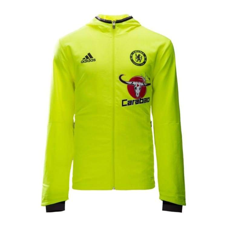 Jackets / Track: Adidas Chelsea 16/17 Pre-Match Jacket Yel Ap5609 - Adidas / Xs / Yellow / 1617 Adidas Chelsea Clothing Football |