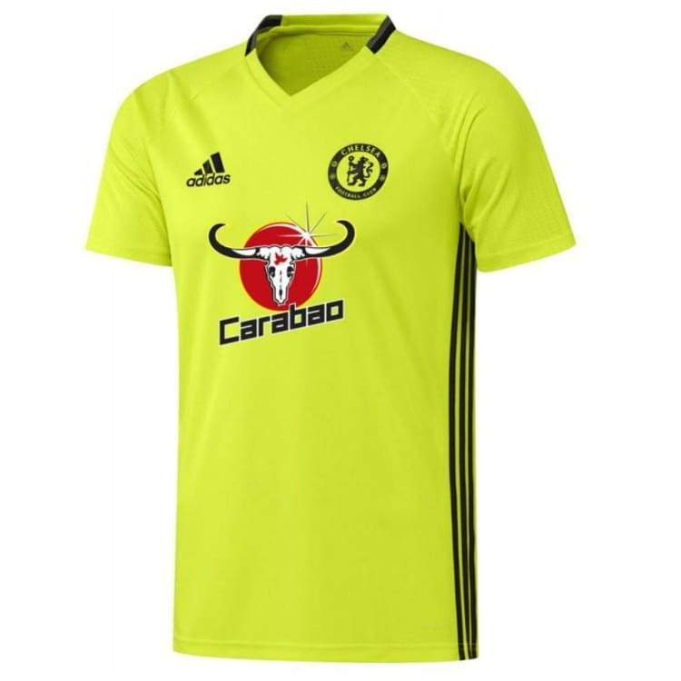 Jerseys / Soccer: Adidas Chelsea 16/17 Training Jersey Yel Ap5625 - Adidas / S / Yellow / 1617 Adidas Chelsea Clothing Football |
