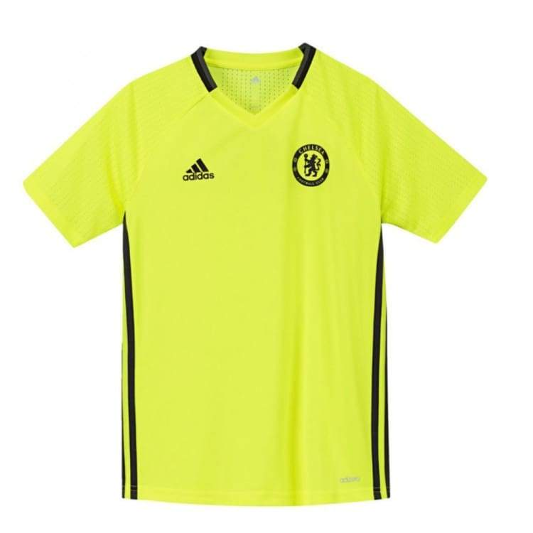 Jerseys / Soccer: Adidas Chelsea 16/17 Training Jersey Youth Ap5628 - Adidas / Kids: 152 / Yellow / 1617 Adidas Chelsea Clothing Football |