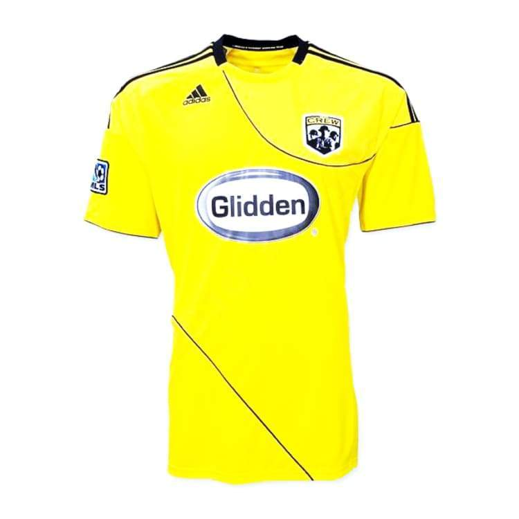 Jerseys / Soccer: Adidas Colombus Crew 10/11 Home S/s Jersey 026026 - Adidas / S / Yellow / 1011 Adidas Clothing Columbus Crew Sc Home Kit |