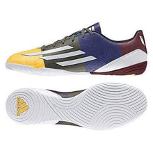 Shoes / Soccer: Adidas F10 In (Messi) Oj/ Wht/grn M21766 - Adidas Footwear Land Mens Multi