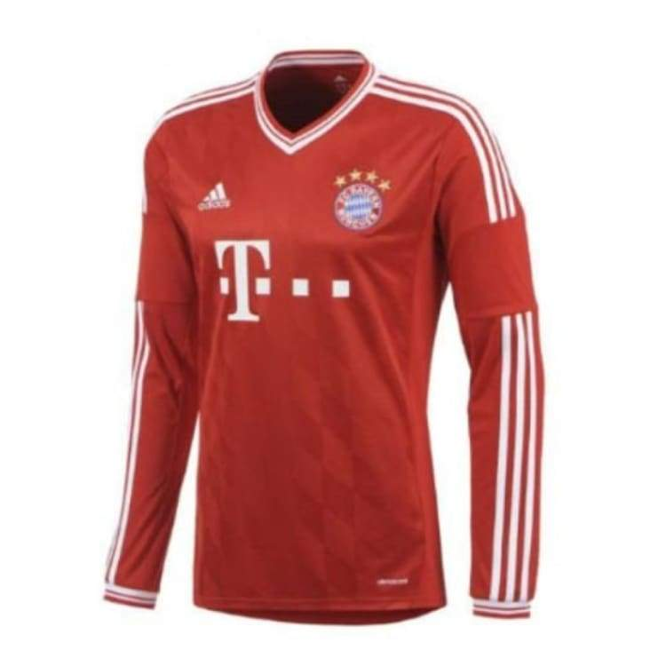 Jerseys / Soccer: Adidas Fc Bayern 13/14 (H) L/s G74157 - Adidas / M / Red / 1314 Adidas Bayern Munich Clothing Home Kit |