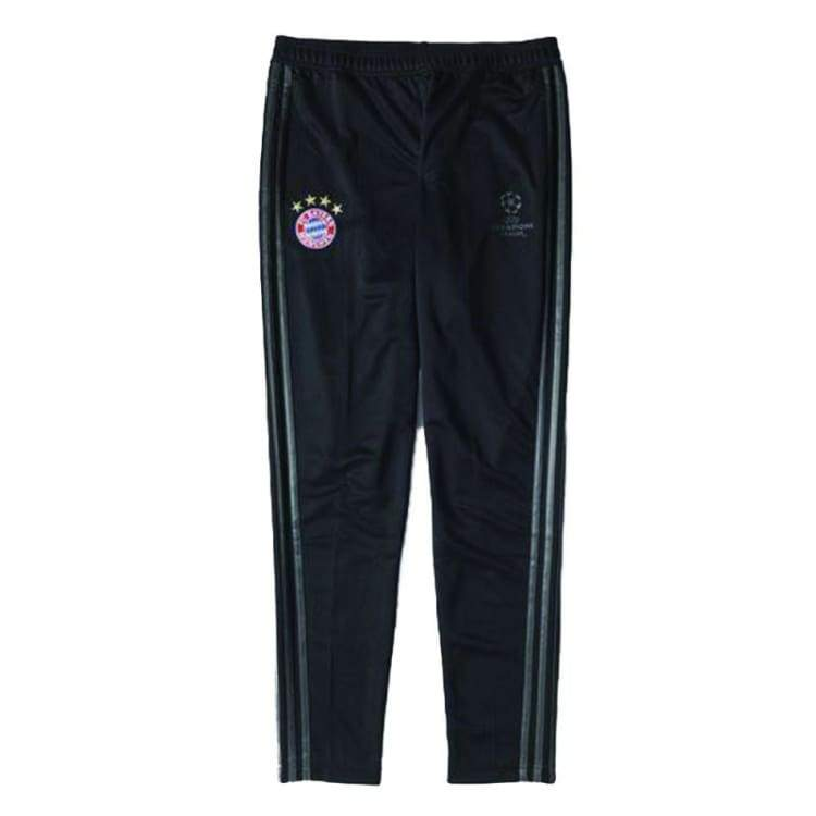 Pants / Training: Adidas Fc Bayern 14/15 Ucl Training Pants Bk/gy F49554 - Adidas / S / Black / 1415 Adidas Bayern Munich Black Clothing |
