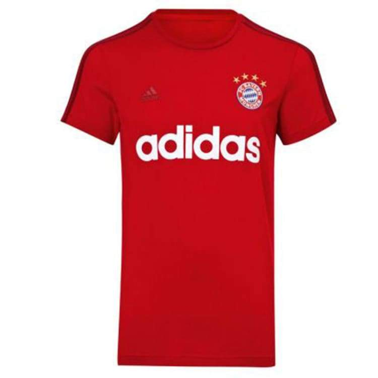 Tees / Short Sleeve: Adidas Fc Bayern 15/16 S/s T-Shirt Aa2225 - Adidas / S / Red / 1516 Adidas Bayern Munich Clothing Fans Wear |
