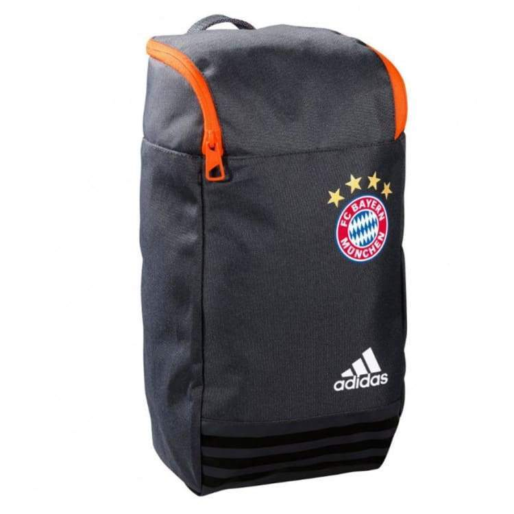 Bags / Boot: Adidas Fc Bayern 16/17 Shoe Bag Gry S95139 - Adidas / Grey / 1617 Accessories Adidas Bags Bags / Boot | Ochk-Sfalo-S95139-Gry