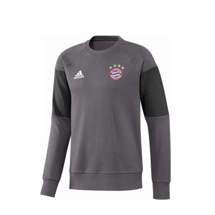 Hoodies & Sweaters: Adidas Fc Bayern 16/17 Sweat Top Gry Ao0313 - Adidas / Xl / Grey / 1617 Adidas Bayern Munich Clothing Grey |