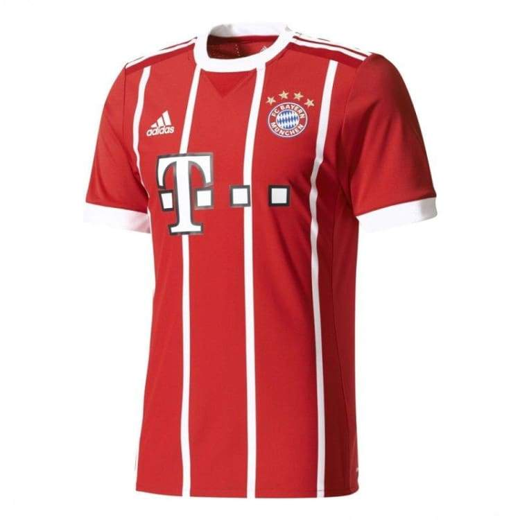 Jerseys / Soccer: Adidas Fc Bayern 17/18 (H) Mens Authentic Jersey Az7960 - Adidas / S / Red / 1718 Adidas Bayern Munich Clothing Football |