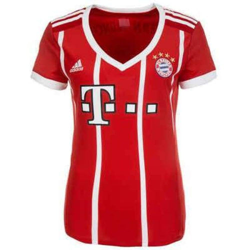 Jerseys / Soccer: Adidas Fc Bayern 17/18 (H) Womens Jersey Az7956 - Adidas / Xs / Red / 1718 Adidas Bayern Munich Clothing Football |