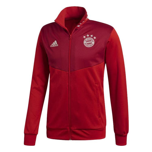 Jackets / Track: Adidas FC Bayern 18/19 3-Stripes Track Jacket RED CW7335 - adidas / XS / Red / 1819 Adidas BAYERN MUNICH Clothing Jackets |
