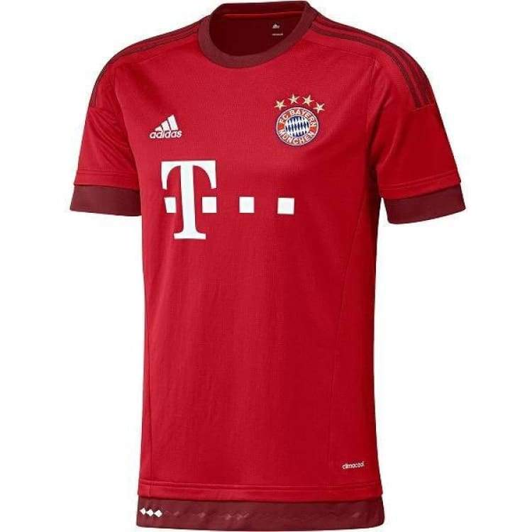 Jerseys / Soccer: Adidas Fc Bayern Munich 15/16 (H) S/s S14294 - S / Red / Adidas / 1516 Adidas Bayern Munich Clothing Home Kit |