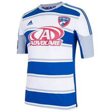Jerseys / Soccer: Adidas Fc Dallas 13/14 (A) S/s Z70224 - 1314 Adidas Away Kit Blue Clothing
