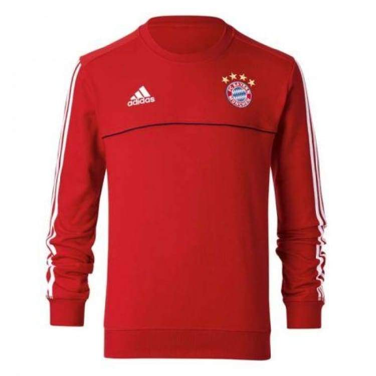 Hoodies & Sweaters: Adidas Fcb 17 Swt Top Br0674 - Adidas / S / Red / 2017 Adidas Bayern Munich Clothing Hoodies & Sweaters |