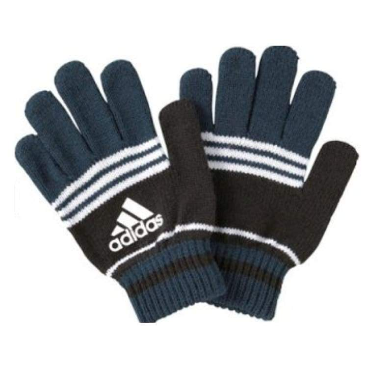 Gloves & Mittens / Casual: Adidas Fingerless Glove - Adidas / Black / Accessories Adidas Black Blue Gloves | Ochk-Sfalo-Aseng0215A98715-Blk