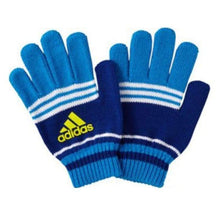 Gloves & Mittens / Casual: Adidas Fingerless Glove - Adidas / Blue / Accessories Adidas Black Blue Gloves | Ochk-Sfalo-Aseng0215A98715-Blu